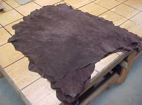 very thin pig skin leather hides for sale