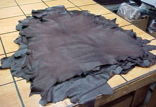 very thin sheep leather hides for sale