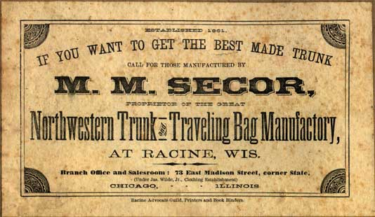 Antique Trunk Makers And History