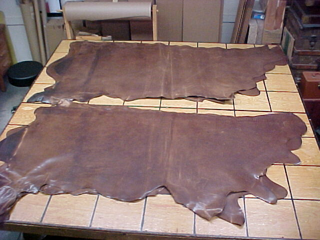 pull up leather hides for sale