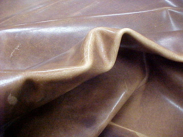 weathered brown leather hides for sale