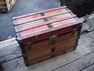 Same antique trunk refinished by Brettuns Village