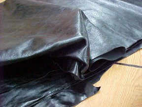 black cowhide leather for purses