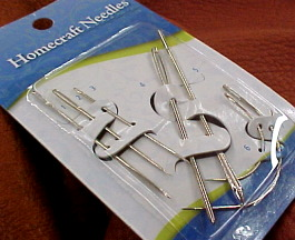 Sewing needle kit set for leather crafts