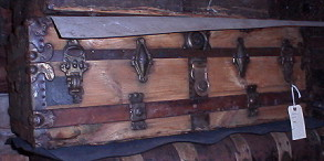 cabin trunk before restoration