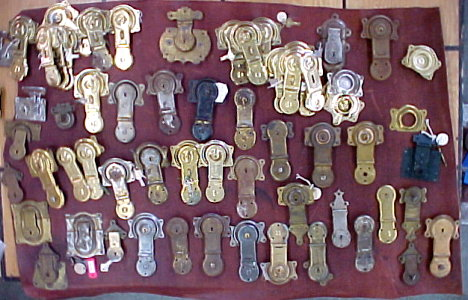 Original old stock trunk locks for sale