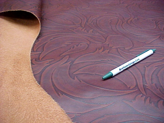 large embossed full cowhides for sale