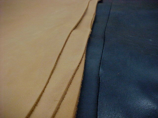 natural tan leather hides for sale