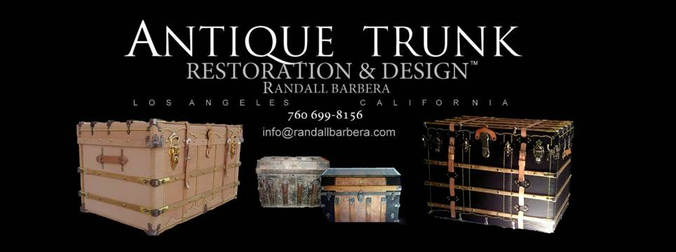 beautifully finished antique trunks for sale