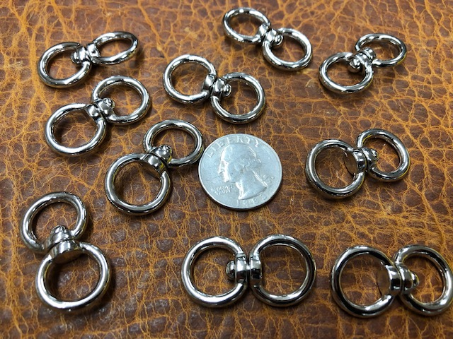 Double swivel rings for sale