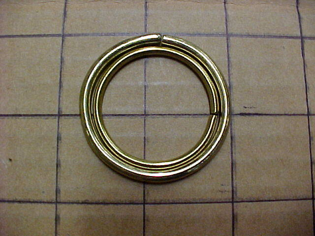 Brass round rings for sale leathercraft supplies