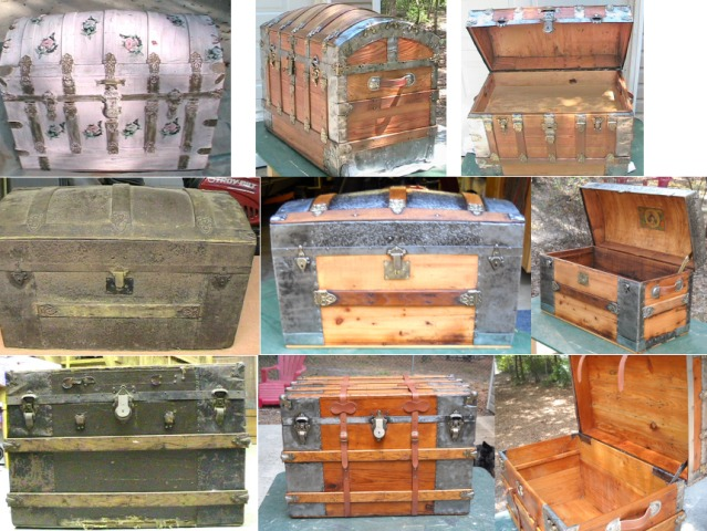 Lots of restored trunks