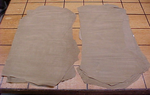 nice tan suede leathers for sale