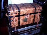 Restored doll trunks for sale