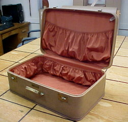 Vintage JC Higgins suitcase for sale with free shipping