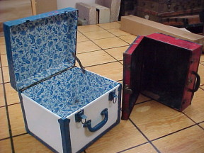 vintage leather suitcases for sale