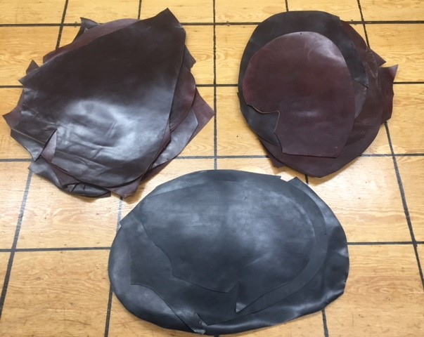 shell cordovan leather for sale
