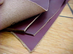 veg tan leather hides on sale
