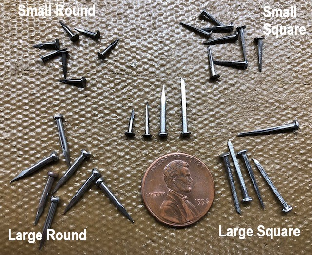 Small craft nails and tacks for sale