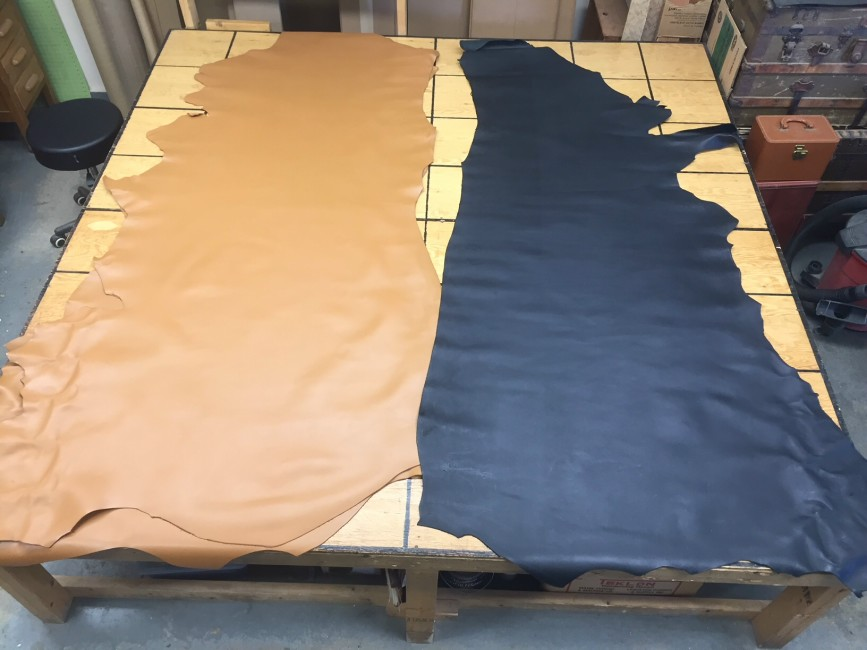soft floater leather hides for sale