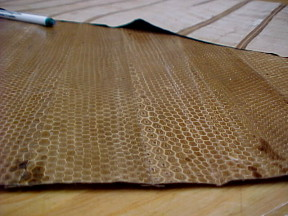 snake skin leather for sale
