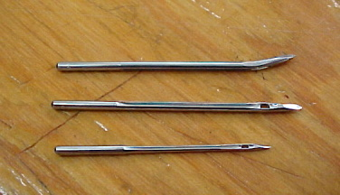 Leather sewing needles for sale