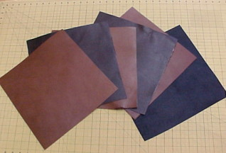 one square foot of leather for sale