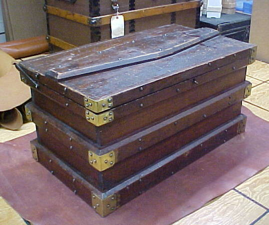 antique tool box trunk for sale