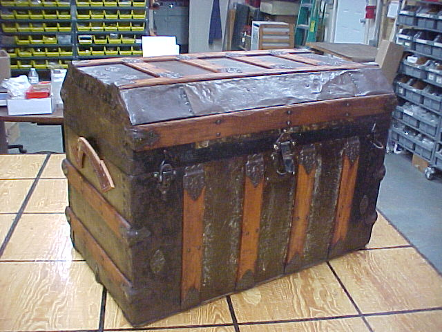 Restored antique trunk for sale