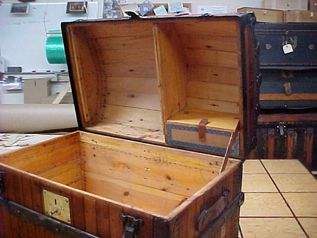 Refinished antique trunks for sale