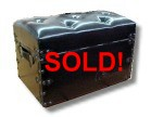 leather covered steamer trunks for sale