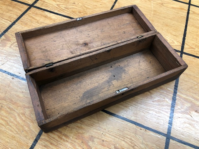 antique small storage box for sale