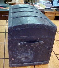 an old trunk to be fixed up, for sale