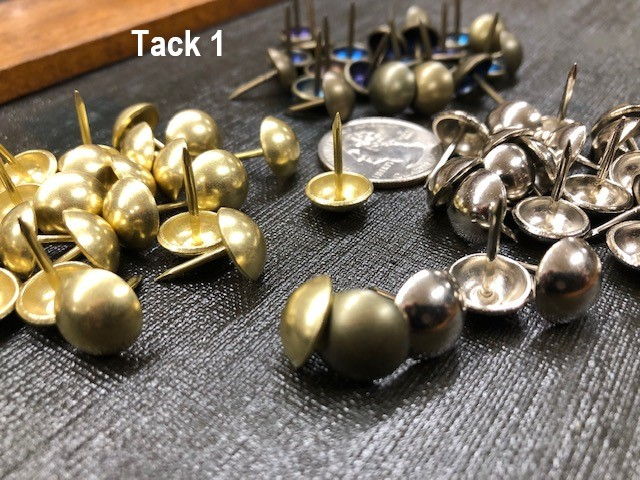 Upholstery tacks
