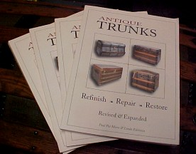 Antique Trunk Restoration book for sale