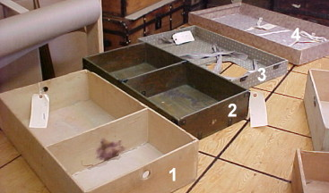 old stock original trunk trays for sale