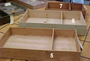 replacement tray or till for steamer trunks
