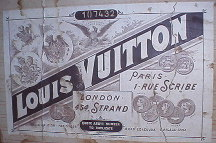 Vuitton trunk history