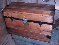 trunk refinished by Brettuns Village