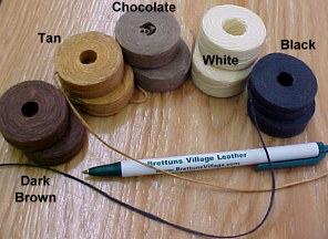 leather craft thread for sale