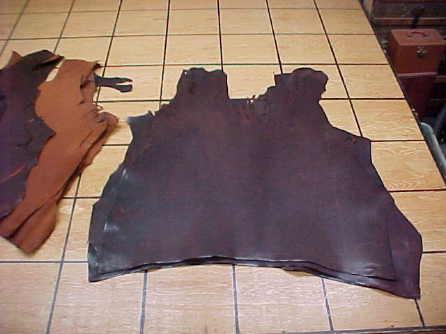 Sunrise WigWam Leather Hides for sale