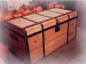 Refinishing service for antique trunks