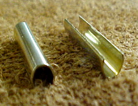 Brass Edge Clip Decorations for Leather Crafts or Book Binding
