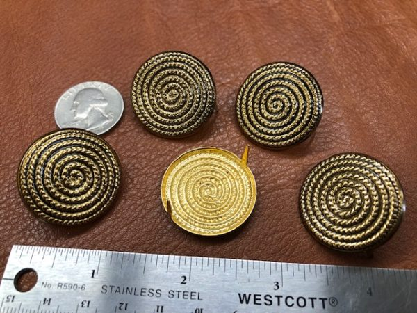 brass decorations for purses and bags