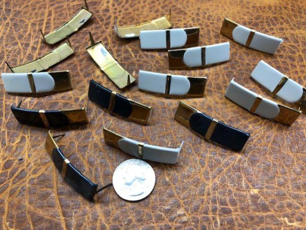 Ribbon Bar Brass Decorations