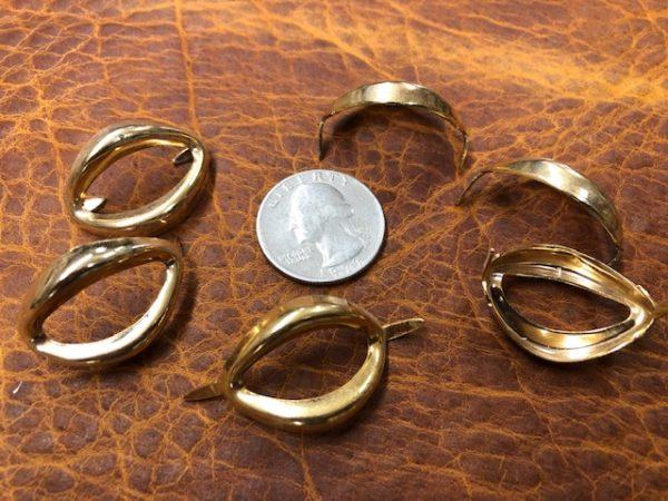 brass leather craft decorations