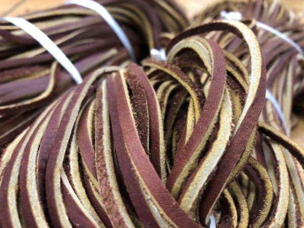 Hickory Laces for boots or walking sticks
