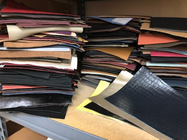 Tannery Sample leathers For Sale