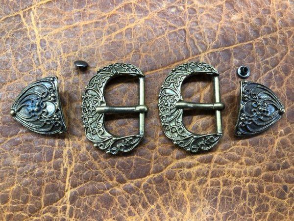 ornate belt buckles for narrow belts