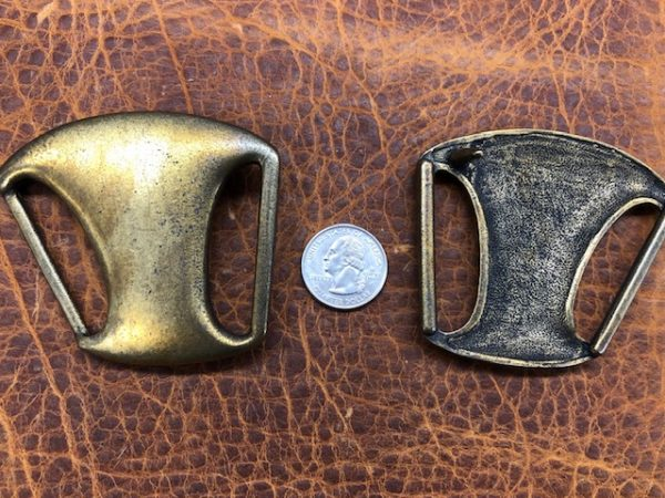Vintage Brass Belt Buckles